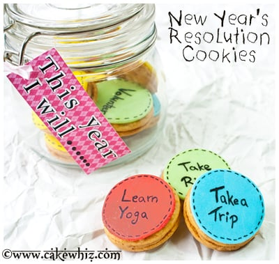 new year's resolution cookies 9