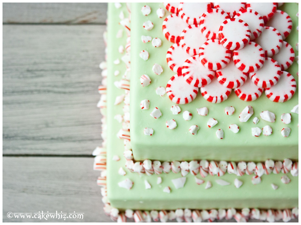 peppermint and candy cane cake 6