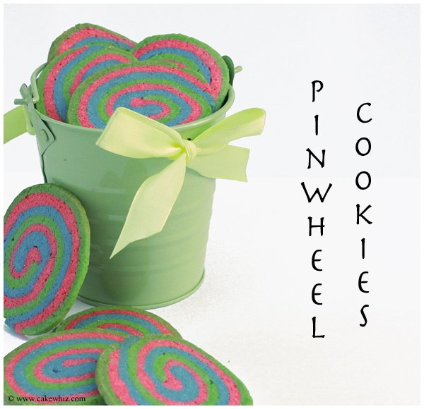 Quick and easy pinwheel cookies recipe