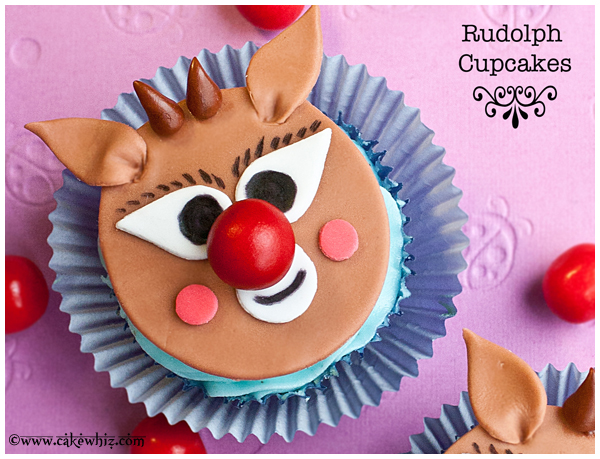 how to make rudolph cupcakes 1