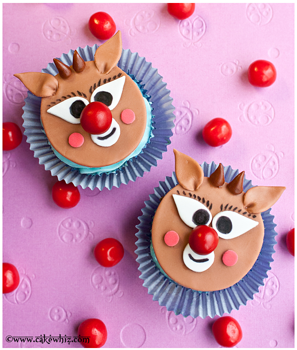 how to make rudolph cupcakes 2