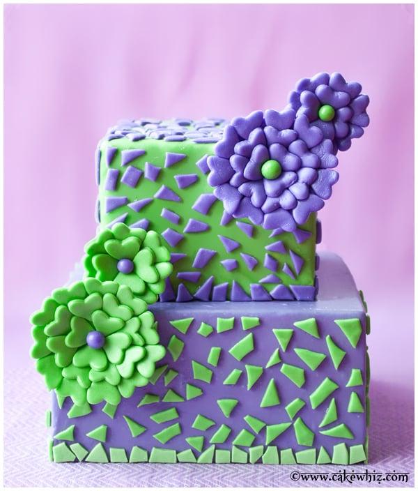 How to Make Fondant Fantasy Flowers CakeWhiz