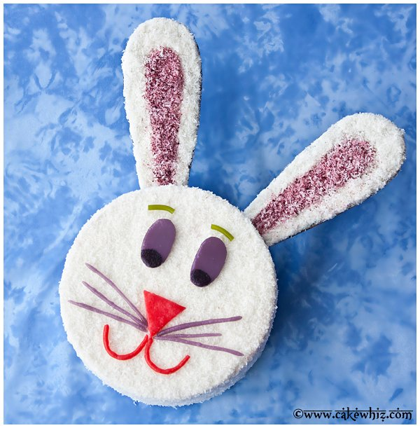 easter bunny cake 1