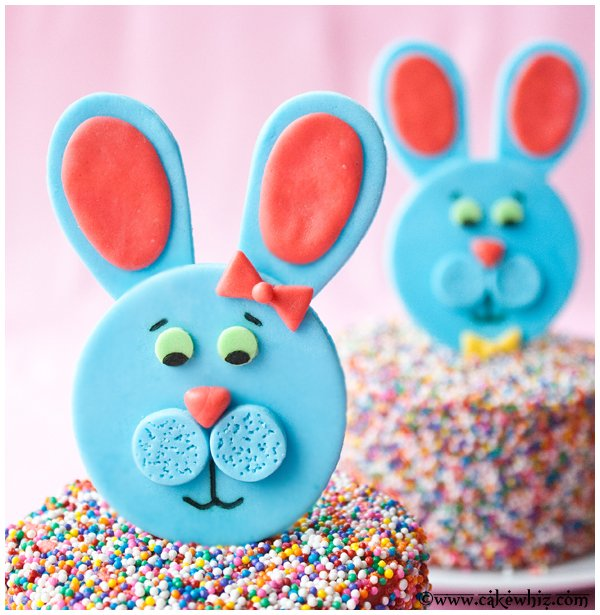 How to Make Easter Bunny Cake Topper