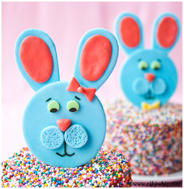 easter bunny toppers 2