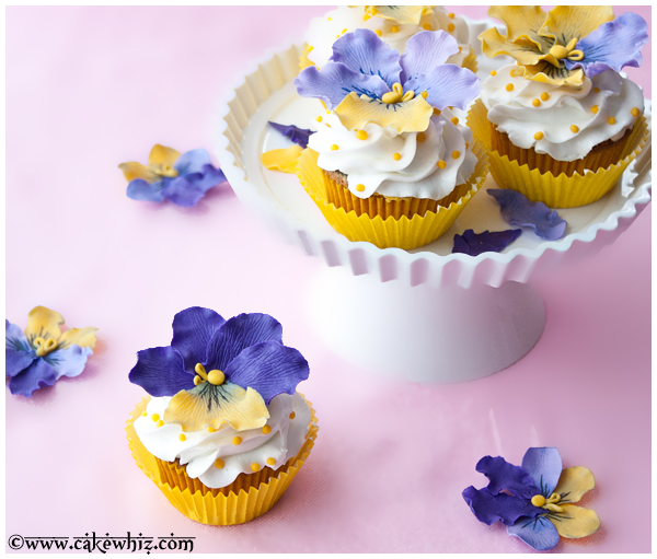 how to make fondant pansies 2