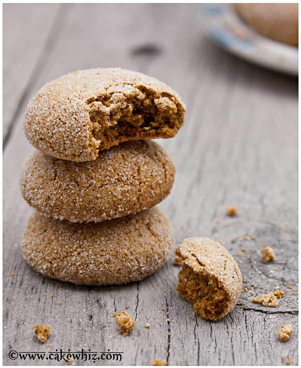 fat free ginger cookies 1