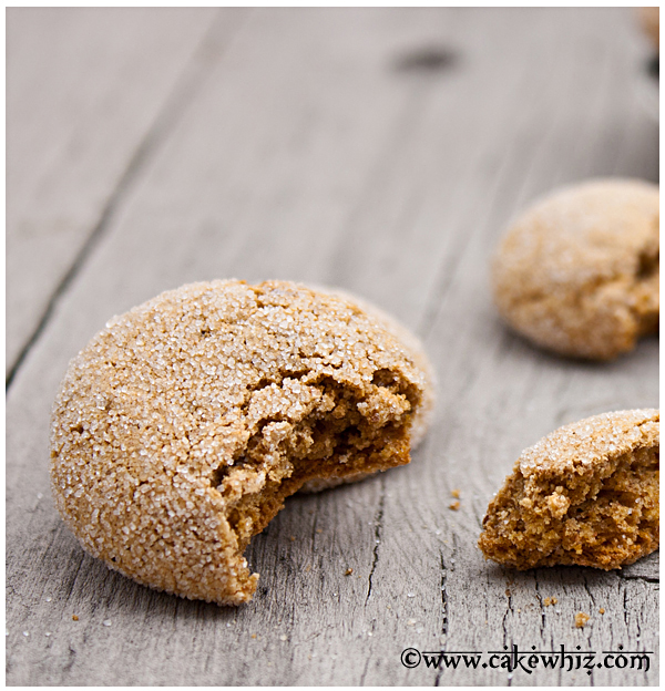 fat free ginger cookies 3