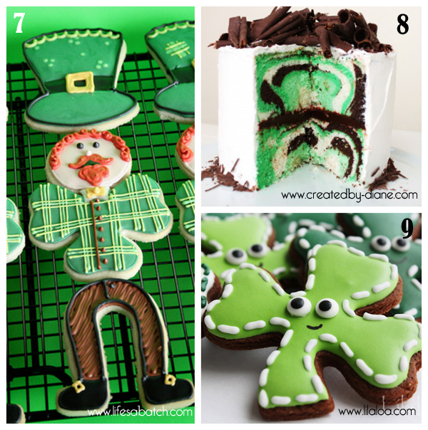 roundup of green treats for St.Paddy's day 3