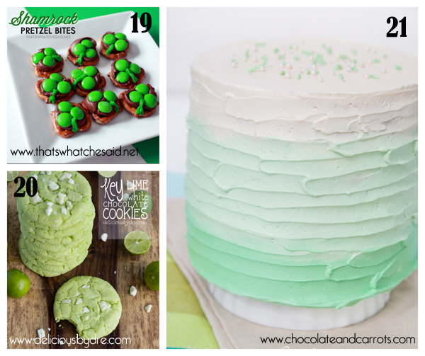 roundup of green treats for St.Paddy's day 7