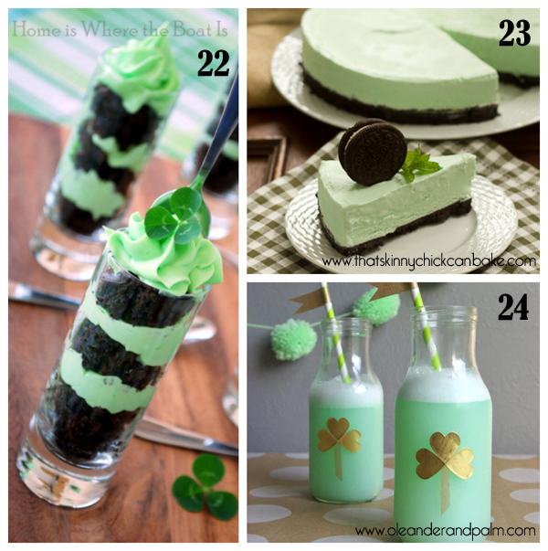roundup of green treats for St.Paddy's day 8