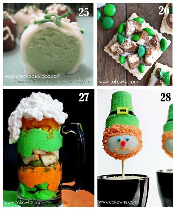 roundup of green treats for St.Paddy's day 9