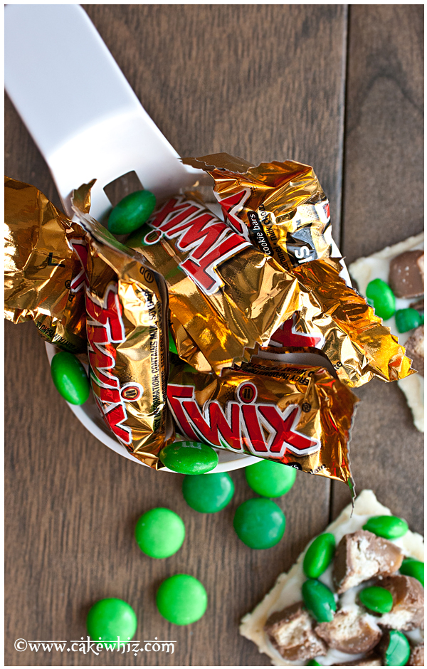 candy and cracker bites for St.Patrick's day 4