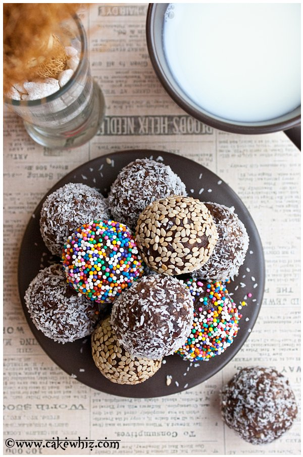healthy chocolate date balls 5
