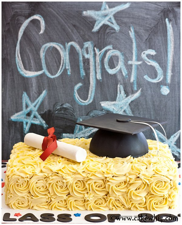 how to make graduation hat cake 1