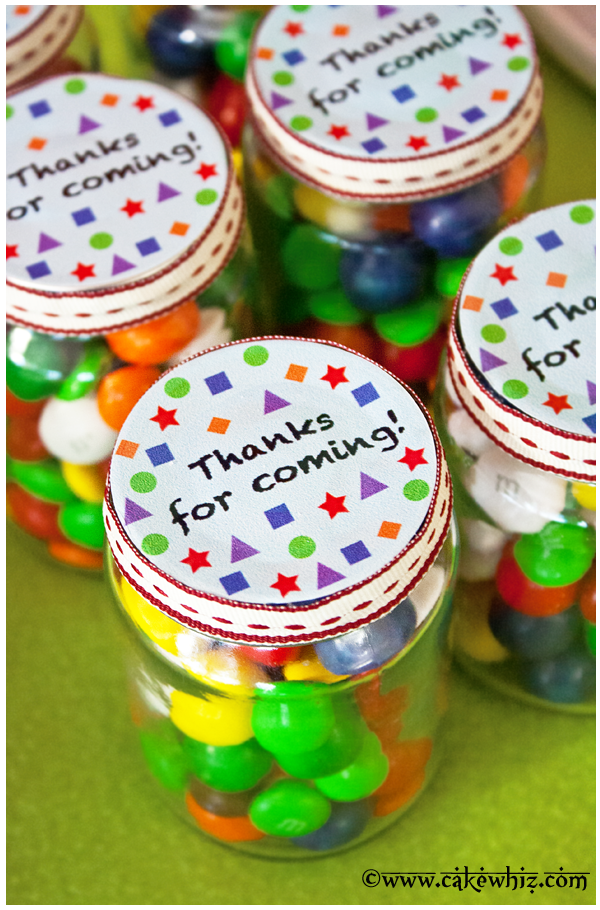 Candy jar giveaways