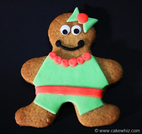 holiday season gingerbread men cookies 3