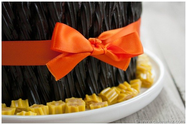 halloween twizzler and candy cake 12