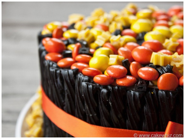 halloween twizzler and candy cake 17