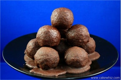 How to make cake balls and cake pops 10