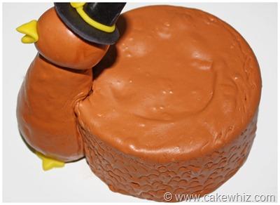 turkey cake 6