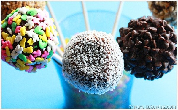 easy ways to decorate cake pops 4