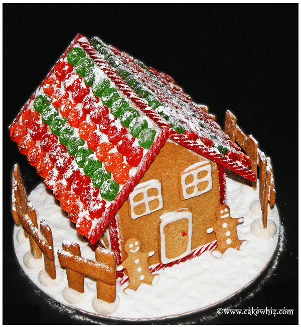 christmas gingerbread house 1