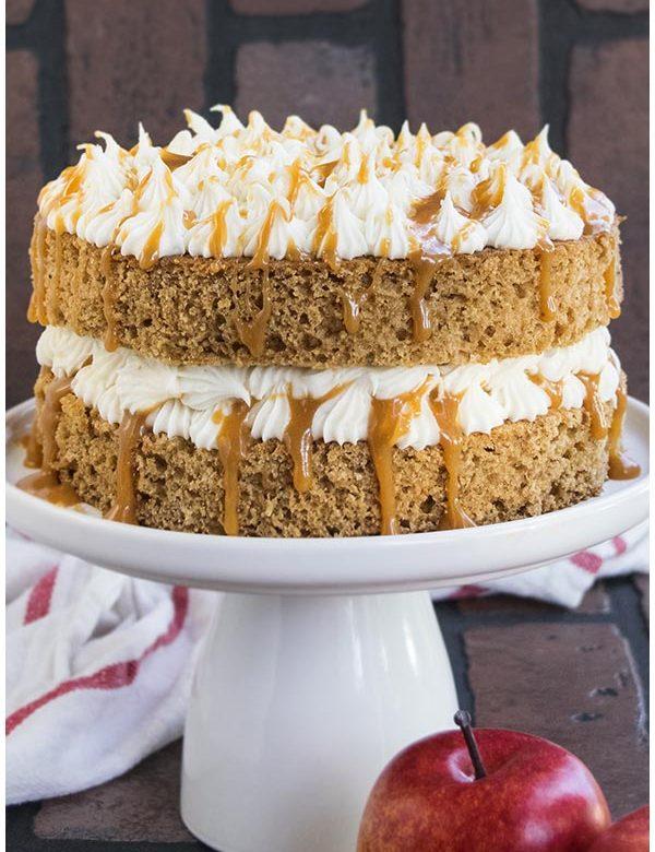 spiced applecause cake recipe