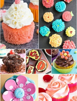 Easy Valentine's Day Cupcakes (Recipes and Ideas)