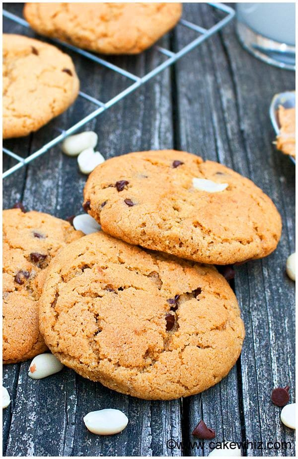 Best Soft and Chewy Peanut Butter and Chocolate Chip Cookies Recipe