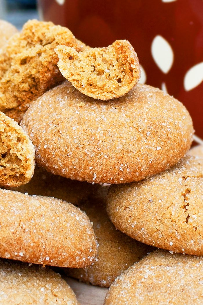 Best Soft and Chewy Ginger Cookies Recipe