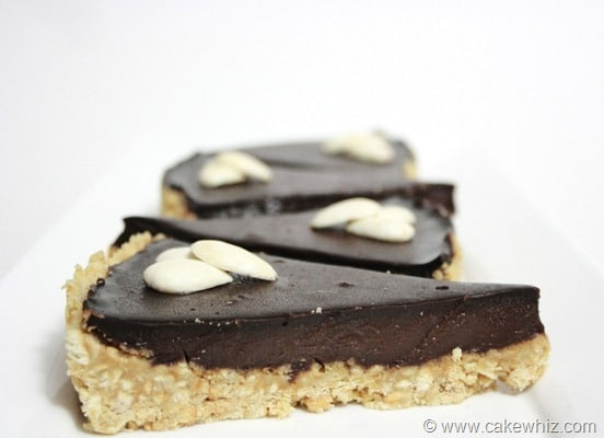 Chocolate cornstarch pudding tart - Cakewhiz