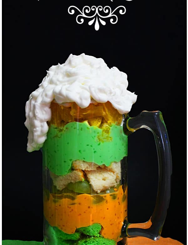 irish beer mug trifle
