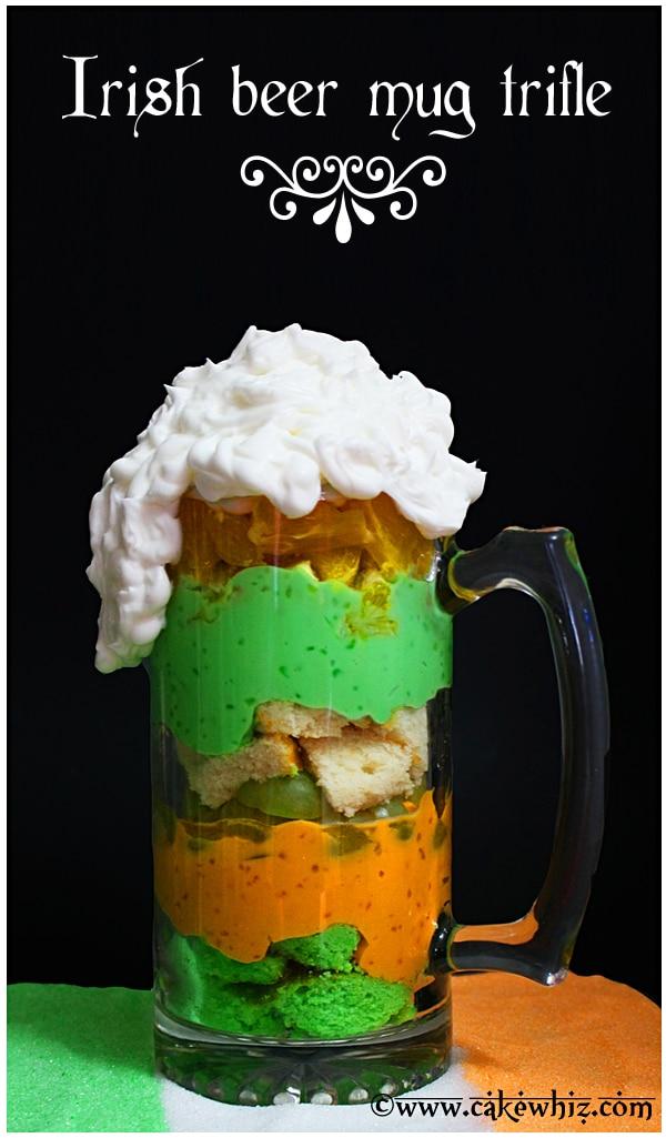 Irish Beer Mug Trifle  Irish Beer Mug