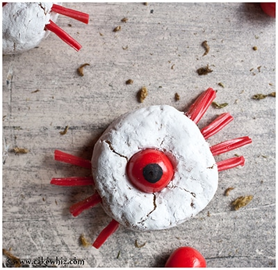 one eyed spider donuts