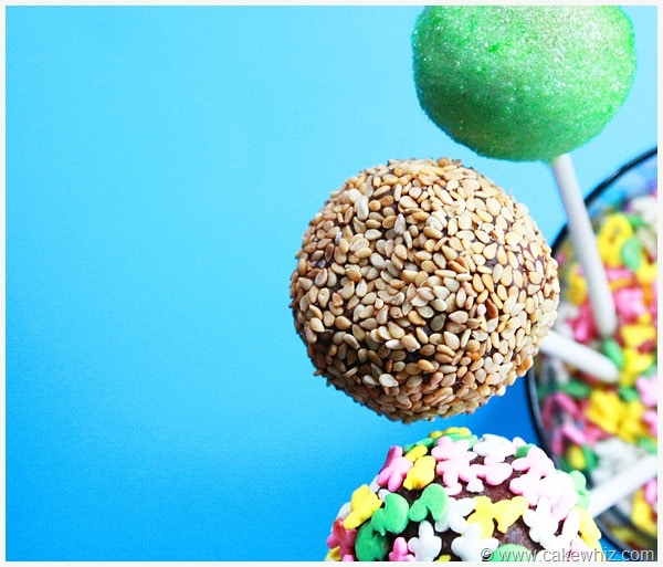 Decorate Cake Pops Sprinkles : Various Ways to Decorate Cake Pops