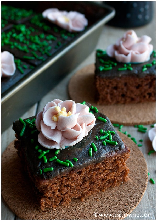 crazy wacky depression chocolate cake