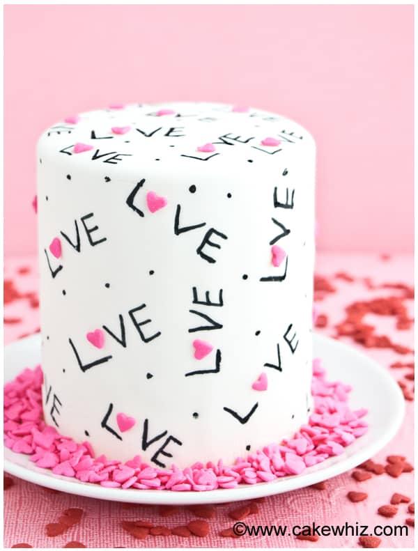 easy love cake