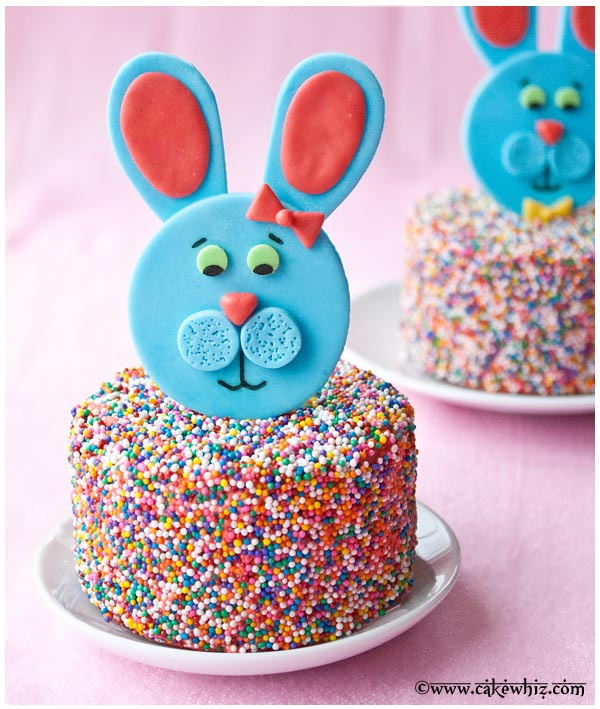 easter bunny toppers 30