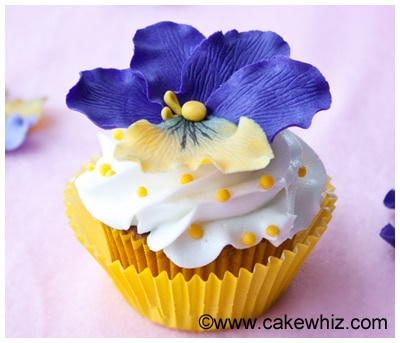 how to make fondant pansies 22