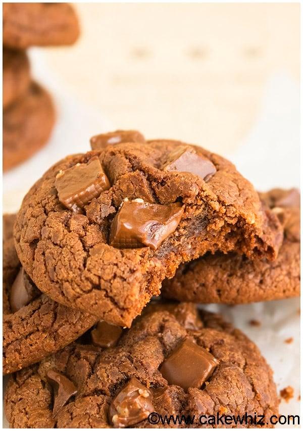 Easy Chocolate Nutella Cookies Recipe 1