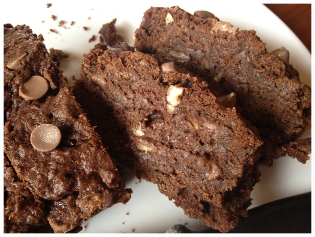 nutella banana fudge bread