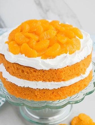 Moist Orange Cake Recipe