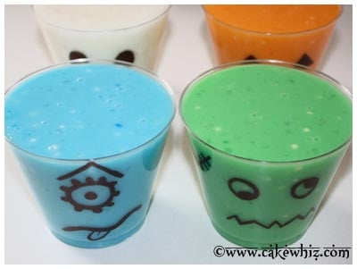 halloween spooky pudding cups 11