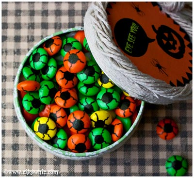 spooky eyeball candies
