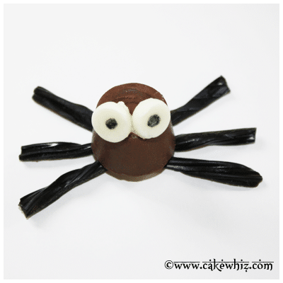 halloween rolo chocolate spiders 18
