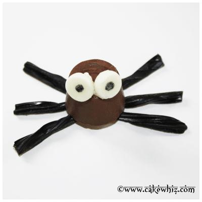 halloween rolo chocolate spiders 18