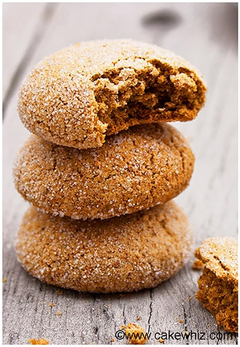 Fat Free Ginger Cookies Recipe