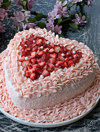 Pink Velvet Cake Recipe From Scratch