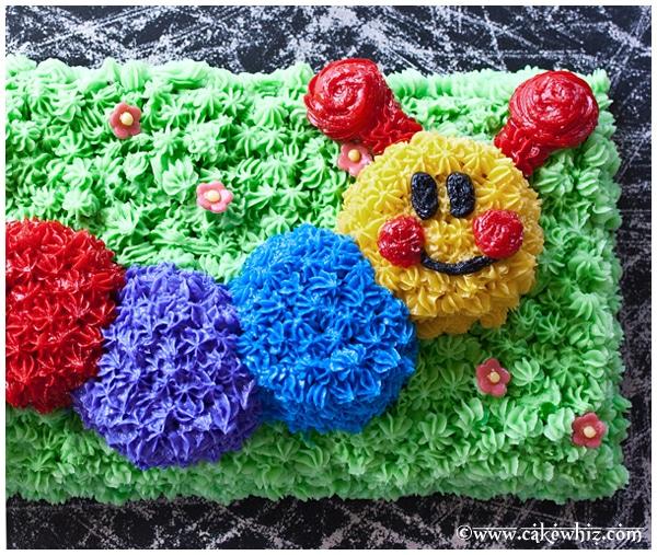 Baby Einstein Caterpillar birthday party